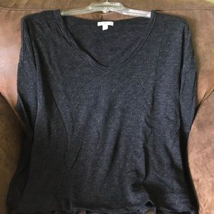 James Perse v neck sweater